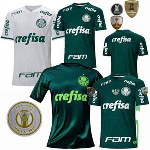 20 21 SE Palmeiras Soccer Jersey Home Alow Weew Away Patrocinador de la tercera Versión Palmeiras L. Adriano Felipe Melo Rony Ramires 2020 2021 Camisa de Fútbol