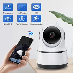 1080P PTZ Wireless Mini Indoor Wireless Security Camera 1080P WiFi IP Home Surveillance System with Human Tracking Two-Way Audio