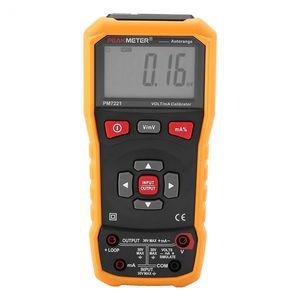 Portable Digital Loop 4-20 mA Voltage Signal Generator Multimeter Calibration Process Calibrator Meter Peakmetet PM7221.