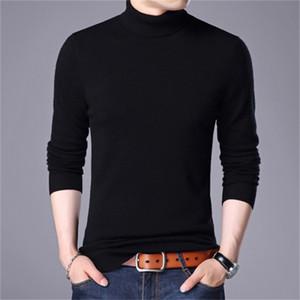 2021 Turtleneck NOUVEAU Homme Pulls de Turtelneck Turtelneck Sweater Colory Homme Vêtements YFXB