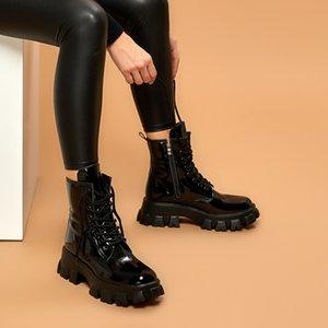 Flo -2060 Black Women Boots ButiGo LJ201030