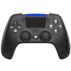 Özel PS4 Kablosuz Oyun Denetleyicisi 4.0 Bluetooth, Titreşim Dokunmatik Ekran PS4 Denetleyici Geri Uzatma Anahtarı