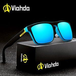 Óculos de sol Viahda Ciclismo com pacote polarizado 731 HCPLs