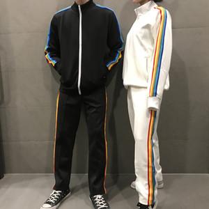 2021 Mens Designer Tracksuit Womens Casual Palm Moletons Moda Ao Ar Livre Jogging Respirável Ternos Homens Anjos Sueter Brandwears Hanfei001