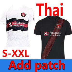Tamaño S-4XL FC Midtjylland Custom Soccer Jerseys 2020 2021 Kaba Dreyer Sisto Mabil Sviatchenko Evander Men Football Shirts Fodbold Tøj