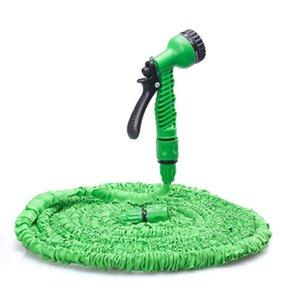 25-200FT expandable magic flexible garden hose with spray gun for watering garden cart hose 201210