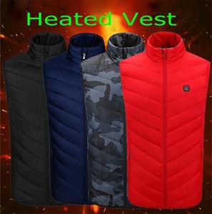 Veste chauffée à la mode avec batterie 5V YKK Zippers et résistant à l'eau résistant au vent résistant au vent HIVER Vest en plein air FS9124
