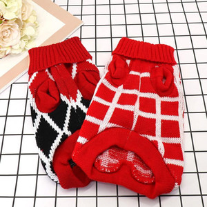 Pet Dog Winter Warm Jumper Sweater Dog Puppy Clothes For Small Medium Dogs Cats Chihuahua Ropa Para Per jllojV