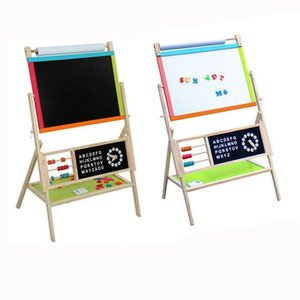 Large Size All In One Kid's Wooden Art Easel Double Side w  Paper Roll & Tray