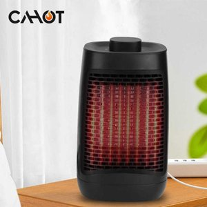 CAHOT 1200W 3 Seconds Fast Heating Electric Heater 3 Speed Adjustable Temperature Fan Heater Warm Air Blower For Home Office