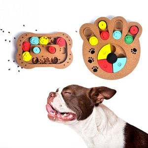 1PC Hot Sale Rubber Resistant Bite Brain Game Chew Training Toy Bowl Dog Cat Puppy High Quality Pet Products Y1125