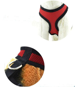 Mesh Pet Harness Soft Mesh Pet Harness Adjustable Breathable Puppy Harness Safety Strap Mesh Vest for Dog Puppy Cat Accessories PPE3654