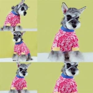 Новый модный дизайнер бренда питомца одежда свитера Sweaterdog кот Fadou Chenery Teddy Cokey осень роскошный зимний собака свитер свитер # 5120