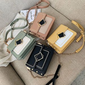Pu Leather Crossbody Bags For Women 2021 Small Shoulder Simple Bag Special Lock Design Female Travel Handbags