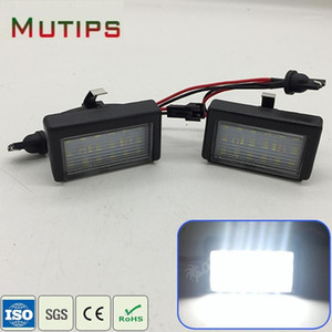 Mutips 1Set Car LED License Plate Lights 12V No error White LED Lamp For ML-Class W164 GL-Class X164X accessories1
