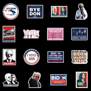 Autocollant de voitures Biden Harries Lettres Stickers Etats-Unis Président Election Joe Biden Affiche Notecase Décalcomanie Bagage Gita Soulet 100pcs / Ensembles HWWE2978