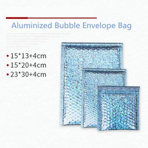 20pcs Aluminum Bubble Shipping Bag Mailing Envelope Cosmetics Mobile Phone Shell Toy Waterproof Courier Bag Bubble Packaging