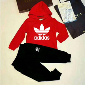 2020 Hot boy Kids Sets Hoodie And Pant Children Sets Baby Boys Girls Spring and autumn Suit Baby Sport Suit 2Pcs Set A2