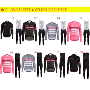 2018 MTB Jersey Kit Pro 팀 RCC 남성 통기성 빠른 건조한 Downhill Bermuda Ciclismo Motocross Mountain Road Cyling Jersey Set D0401