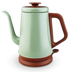 Gooseneck Electric Kettle(1.0L), 100% Stainless Steel BPA Free Classic Pour Over Coffee Kettle | Tea Kettle - Green