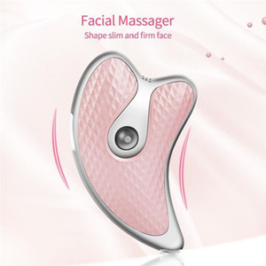 Micro Current Facial Lifting Massage Thin Face Facial Electric Vibration Heating Beauty Instrument
