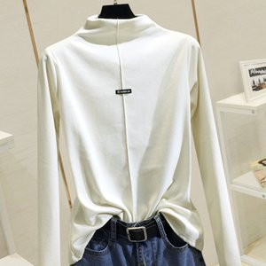 Women's bottoming shirt 2020 new long-sleeved high-necked long-sleeved T-shirt 1030 A1112