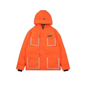 El pastel de la búho de herramientas al aire libre de la chaqueta canadiense de 2020 nuevos para los hombres supera la capa de invierno de parejas medias y largas.