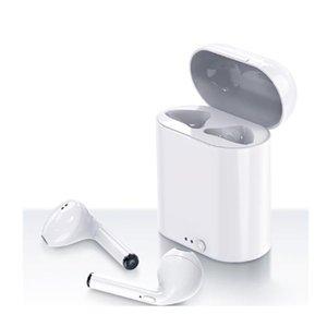 I7 mini bluetooth-ohrhörer i7s drahtlose kopfhörer sport ohrhörer hifi headset case für iphone xiaomi redmi samsung