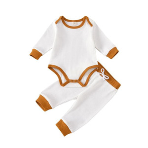0-18M Babies Boys Clothes Set Infant Girls T-Shirts Tops Long Pants 2Pcs Spring Autumn Clothing Suits