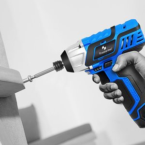 PROSTORMER 12V Electric Screwdriver 100NM Cordless Rechargeable Lithium Battery Household Portable Screwdriver Power Tools Y200321