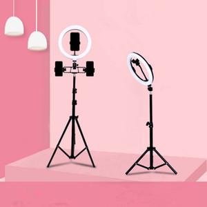 Live Fill Light 10-дюймовый красота заполнить свет омоложения косметический контакт объектив Selfie кольцо светодиодный заливной светлый кронштейн