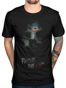 funny t shirts Friday The 13th Mask T-Shirt Horror Film Movie Jason TV Series Printed Cotton Tee Shirts1