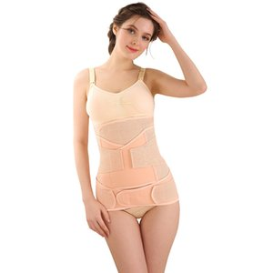 3Pieces Set Maternity Postnatal Belt Pregnancy Bandage Belly Band Waist Corset Maternity Clothes For Pregnant Women Slim Shapers LJ201120