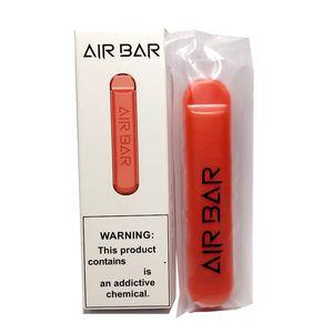 Air Bar Disable Vape Pen Kit Preenchido 1.8ml 600 Puffs POD Cartuchos Airbar Eletronice Cigarro Pods Dispositivo 801447 A + Bateria