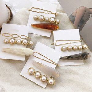 3pcs set Women Pearl Metal Clips Bobby Pin Barrette Hairpin Hair Styling Accessories Tools Headdress New Arrival