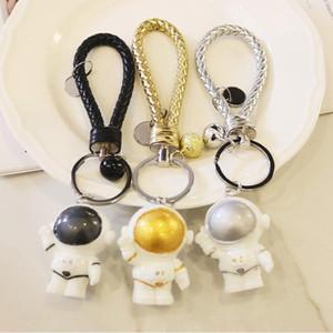 New Space Astronaut Keyring Cute Car Bag Key Chains Women Men Charm Keychain Jewelry for Boy Kids Keyfob Gifts