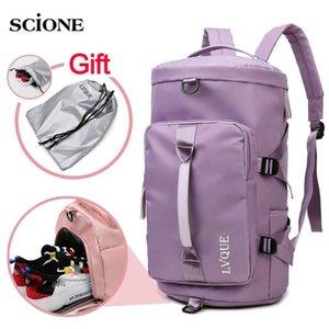 Women Gym Bag Dry Wet Backpack Sports Bags Fitness Handbag For Shoes Outdoor Shoulder Gymtas Training Yoga Bag School Men XA222A Z1124