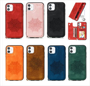 Phone Cases Iphone 12 Pro Max Leather Wallet Case Magnetic 2in1 Detachable Cover Cases For iPhone 11 Samsung Note10