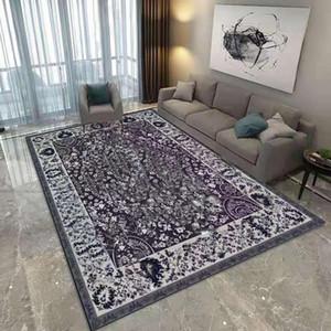 Модный семейный прикроватный ковер модный бренд спальня украшения дверной коврик напольный ковер теплые красочные коврики гостиной