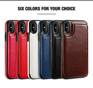 For iPhone 12 11 Pro X XS MAX XR 7 8 Plus Wallet Phone Case PU Leather Kickstand Card Magnetic Clasp for Samsung Galaxy S20 S10 S9 Note20 10