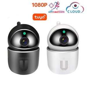 Tuya WiFi 1080P Cloud IP Camera Baby Monitor Auto Tracking Security Indoor Camera Wireless CCTV Network Surveillance