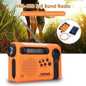 Portable Solar Full Band Radio for Outdoor Camping Hiking FM AM Power Bank Multifunctional Radiogram1