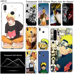 Soft TPU Cassa del telefono per Huawei Y7 2020 Y3 Y6 Y5 Lite Y9 Prime 2019 Anime Uzumaki Naruto Silicone Mobile Back Shell Capa