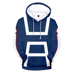 3D 애니메이션 My Hero Academia Hoodies 남성 / 여성 스웨터 만화 역할 놀이 My Hero Academia Hoodie Mens Winter Sportwear Coats