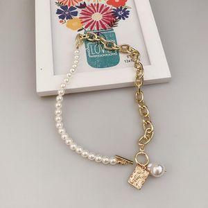 metal gold plate snap jewellery fashion 18k gold fill costume girl bead jewellery set pearl jewelry bead