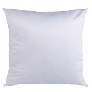 fast shipping 45*45cm Square Sublimation white Pillowcases DIY Blank Pillowcase for Heat Transfer Sofa Pillow Cases Throw Pillow