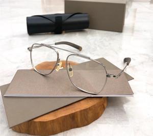DLX105 Nuevos hombres Mujeres Classic Optical Glasses Rectángulo Titanio Tablón Marco Gafas Sencillo Ambiente estilo Vidrios Venta caliente con estuche