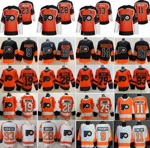 Filadélfia Flyers Jersey Claude Giroux Travis Konecny Ivan Provoradoov Carter Hart Jakub Voracek Sean Couturier Lil Peep Nolan Patrick Hayes
