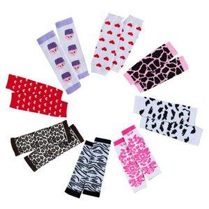 Infantil Meninas Dots Leg Warmer Fall Primavera 2020 Nova Alta Qualidade Algodão Socks Crianças animal Padrão Zebra Coração Socks Legging S487