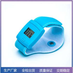 Telefone celular Controle de aplicativo inteligente Bluetooth pulseira monitor bebê termômetro inteligente crianças relógio de desgaste inteligente